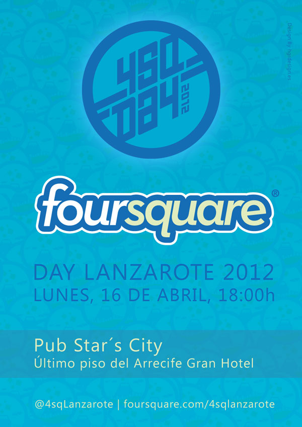 Foursquare Day Lanzarote 2012