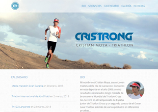 Cristian Moya Website